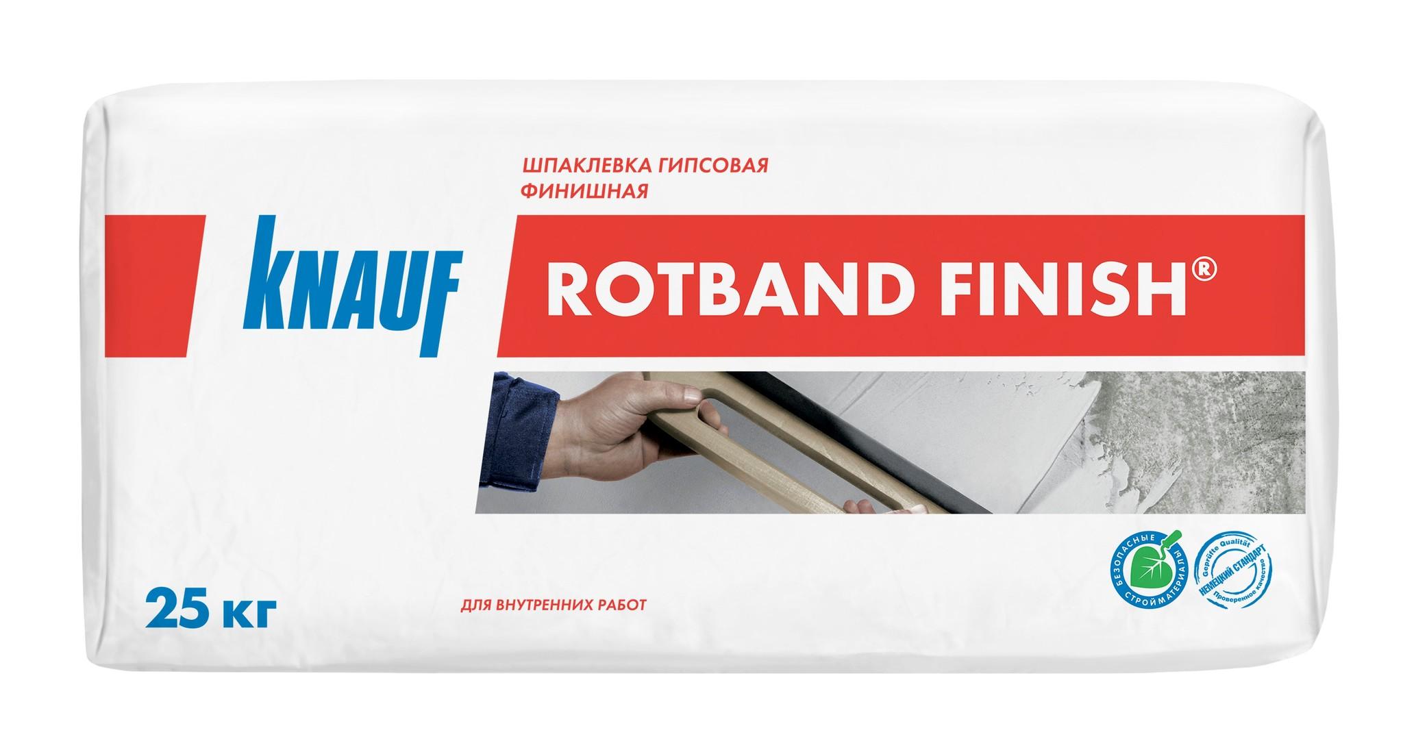 Шпаклевки Шпаклёвка Knauf Ротбанд Финиш гипсовая финишная, 25 кг 58c04247e8454be9a95ac677fdd9cdfa.jpg