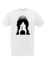 Футболка с принтом Игра престолов (Game of Thrones) белая 0001