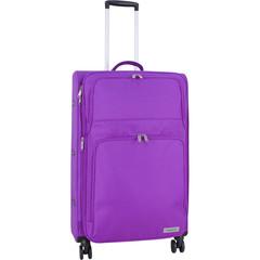 Чемодан Bagland Валенсия большой 83 л. фиолетовый (003799127)