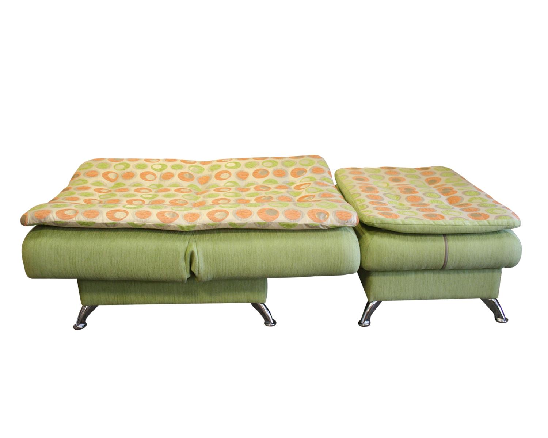 Кресло и пуф Сити в разложенном виде