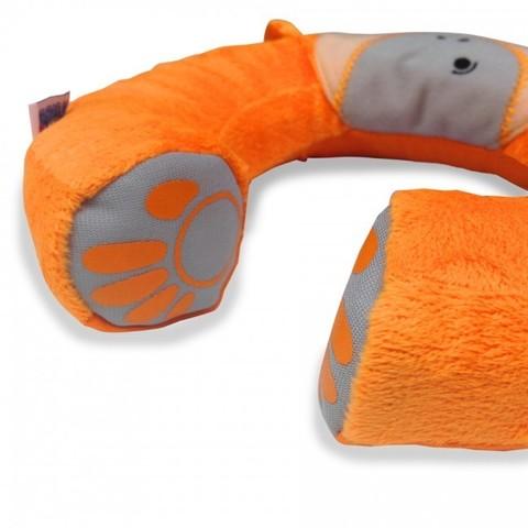 Подголовник детский Yondi Обезьянка, оранжевый