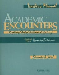 Academic Encounters: Human Behavior Teacher's m...