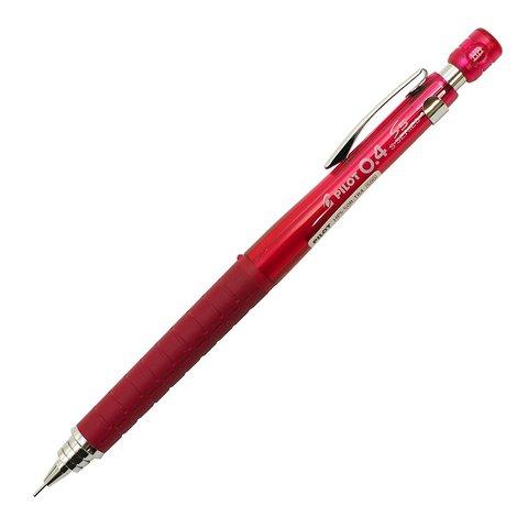 Чертёжный карандаш 0,4 мм Pilot S5 прозрачно-красный