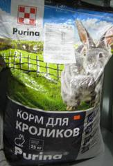 Комбикорм для кроликов, Пурина, 10кг