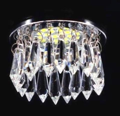 Встраиваемый светильник 3206-8C Хром