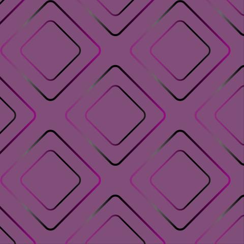 Purple and pink rhombuses