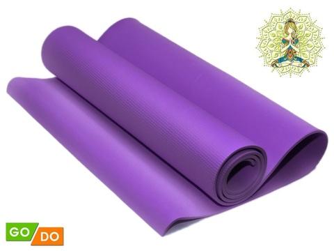 Коврик гимнастический. КВ6106  (Фиолетовый)