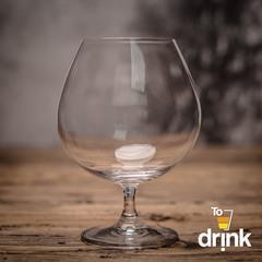 Набор бокалов для бренди Crystalite Bohemia Colibri/Gastro, 2 шт, 690 мл, фото 4