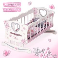 DeCuevas Кроватка-качалка для куклы серии