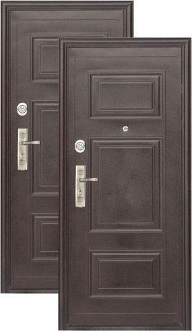 Дверь входная Нестандарт_1200 стальная, 2 замка, фабрика АлтайСталь