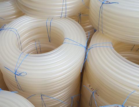 Шланг Ø 16 мм толщина стенки 2.5 мм прозрачный силиконовый (50 м в бухте)