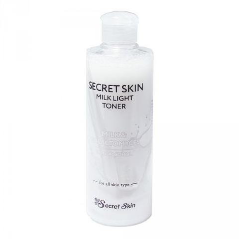 Secret Skin Тонер с молочными протеинами Milk Light Toner, 250 мл