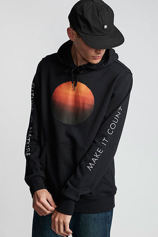 Толстовка ELEMENT SUN FLEECE HD 3732 FLINT BLACK