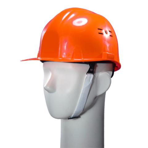 Каска защитная оранжевая ИСТОК храповик