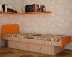 Кровать ЖИЛИ-БЫЛИ клён