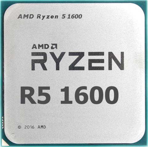 Ryzen 5 1600 - фаворит среди оверклокеров