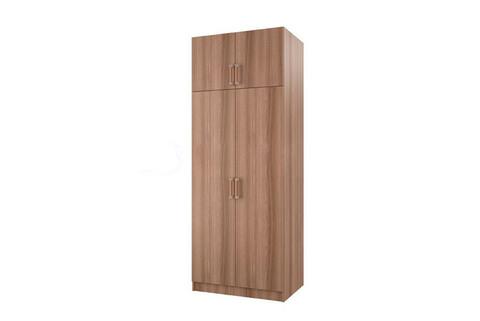 Шкаф 2-х створчатый с перегородкой БТС Ясень шимо