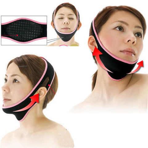 Маска бандаж для подтяжки овала лица