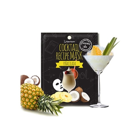 БР Маска для лица Cocktail Recipe Mask - Pina Colada 20гр (10702070/180719/0137806)