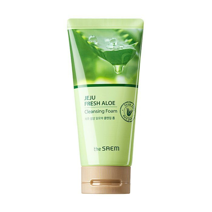 Пенка для умывания The Saem Jeju Fresh Aloe Cleansing Foam
