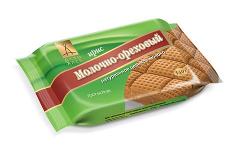 Диво-хлеб ирис молочно-ореховый 130 г