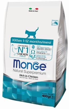 купить Monge Cat корм для котят 400г