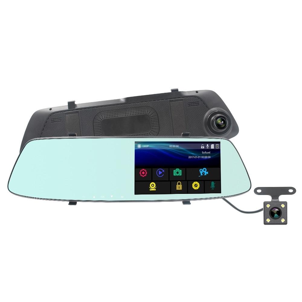 Товары на Маркете Видеорегистратор-зеркало с камерой заднего вида и сенсорным экраном зеркало.jpg