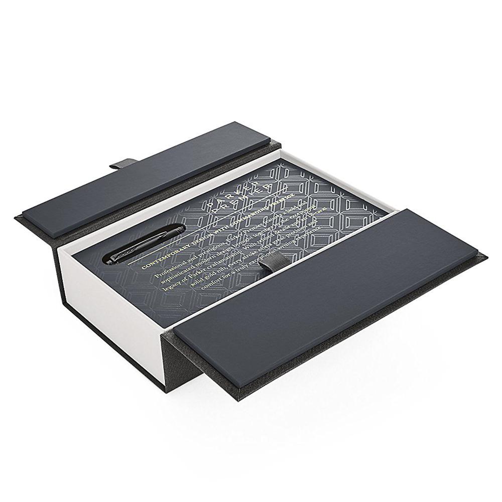 Parker Premier - Monochrome Black, ручка - роллер, F