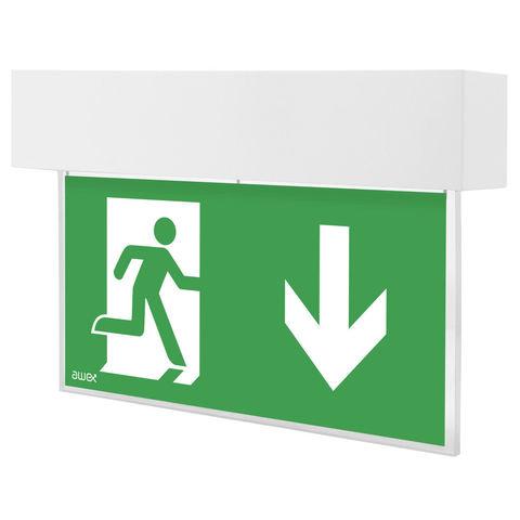 Аварийный светодиодный светильник выход Escape LED Awex