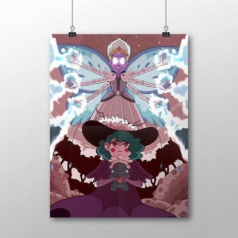 Плакат со Стар и Эклипсой