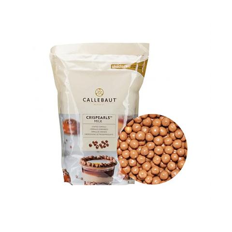 Хрустящие шарики в молочном шоколаде Crispearls (Barry Callebaut), 50г.