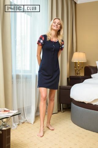 Темно-синее Платье Nic Club Pretty 1704