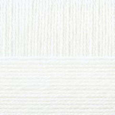 Купить Пряжа Пехорка Кроссбред Бразилии Код цвета 001-Белый | Интернет-магазин пряжи «Пряха»