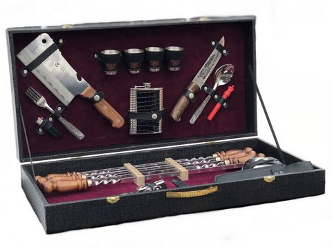 Подарочный шашлычный набор «Дипломат»