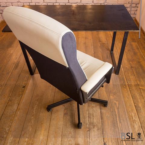 Защитный коврик под кресло 1000x1000 мм шагрень