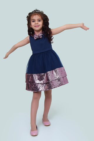 Платье детское + без дополнений (артикул 1Н60-4)