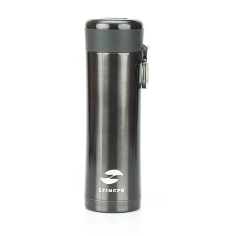 Термокружка чёрный металлик (0,42 л) STINGER HW-420-32-447