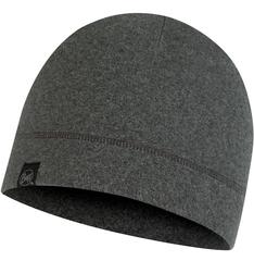 Теплая флисовая шапка BUFF® Polar Hat Grey Htr