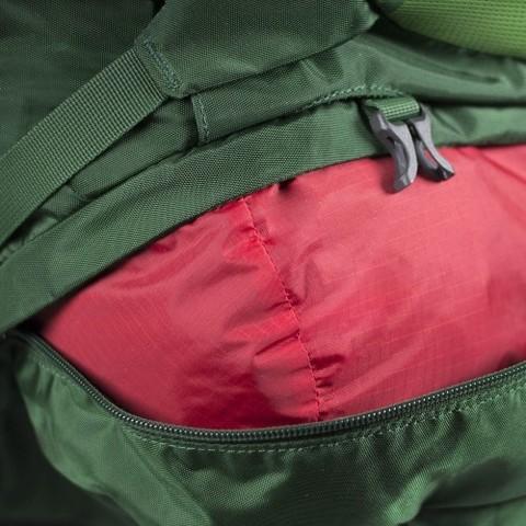 Картинка рюкзак туристический Osprey Kestrel 58 Jungle Green - 2