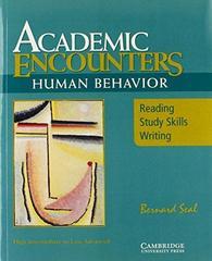Academic Encounters: Human Behavior - Reading S...