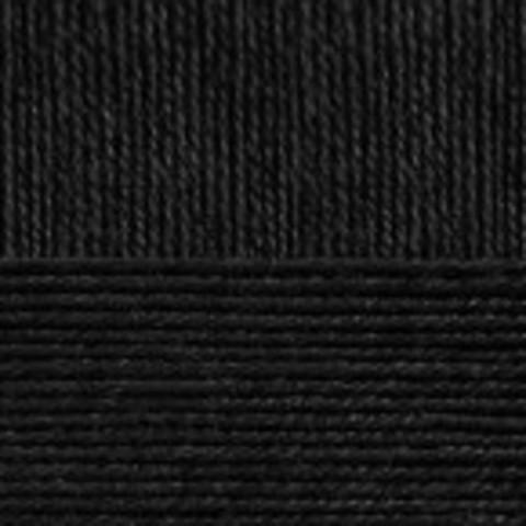 Купить Пряжа Пехорка Кроссбред Бразилии Код цвета 002-Черный | Интернет-магазин пряжи «Пряха»