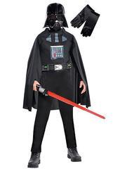 Детский костюм Дарта Вейдера Deluxe со световым мечом и маской (+перчатки)