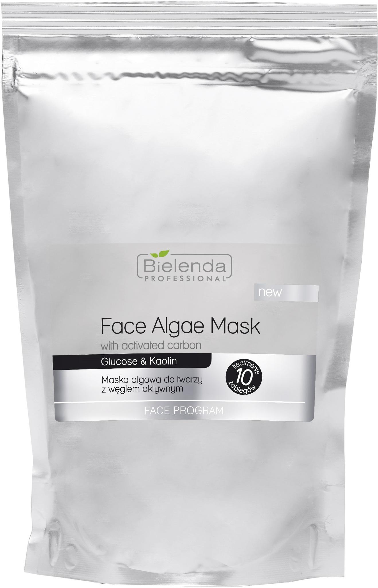 PROFESSIONAL Альгинатная маска для лица с активированным углем 260г