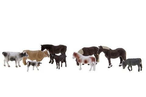 Домашние животные - 9 фигурок, (H0)