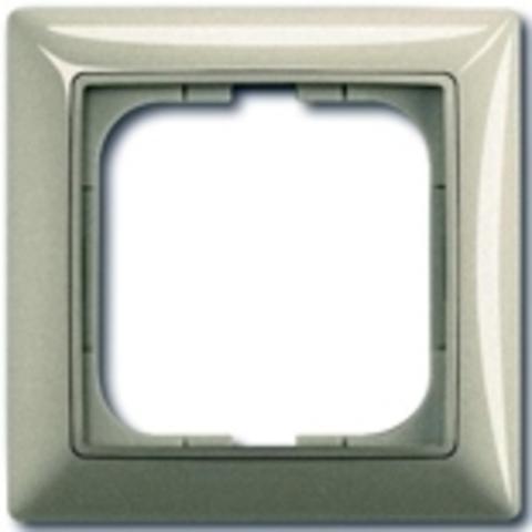Рамка на 1 пост. Цвет шампань. ABB(АББ). Basic 55(Бейсик 55). 1725-0-1501