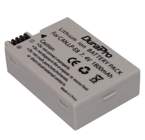 Аккумулятор Allytec LP-E8 для Canon 1800 mAh