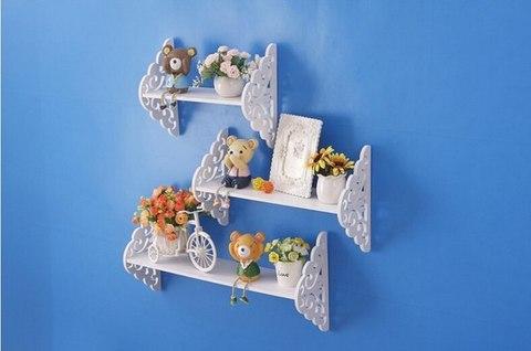 Комплект декоративных полок ДекорКоми из дерева