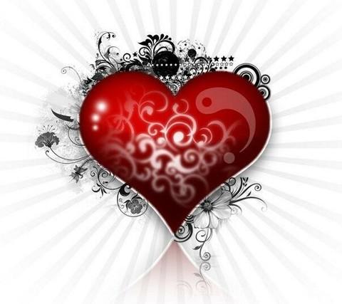 Печать на сахарной бумаге, День Влюбленных 14
