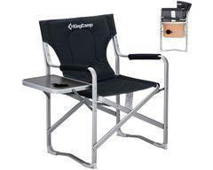 Кресло кемпинговое Kingcamp 3821 Delux Director Chair 87/62x54x41/84 - 2
