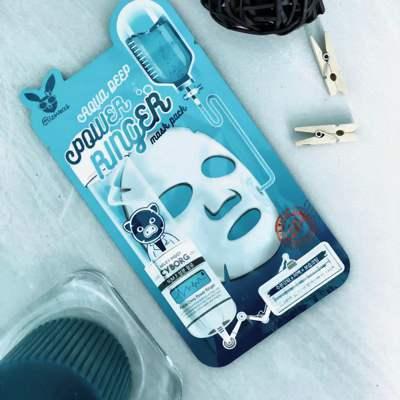 Увлажняющая тканевая маска с гиалуроновой кислотой Elizavecca Aqua Deep Power Ringer Mask